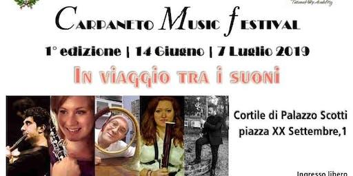 """Carpaneto Music Festival """"In viaggio tra i suoni"""""""