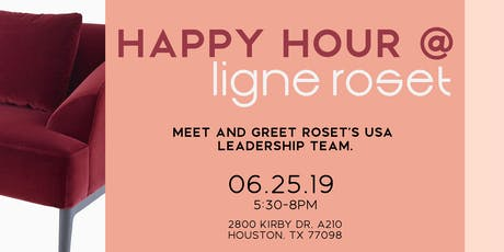 Happy Hour @ Ligne Roset Houston tickets