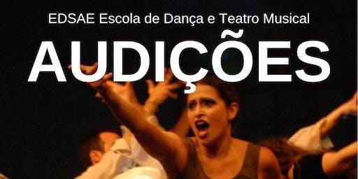AUDIÇÕES | Curso de Formação Profissional de Atores de Teatro Musical