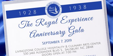 The Royal Experience Anniversary Gala tickets