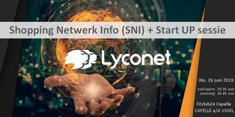 Shopping Netwerk Info (SNI) + Start UP sessie te Capelle a/d IJssel tickets