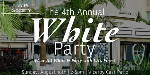 LA: 4th Annual White Party