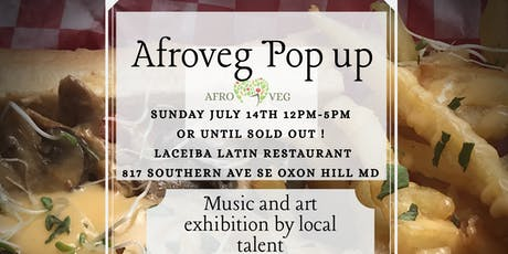 Afroveg Pops up! tickets