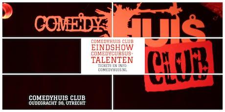Comedyhuis Club - Eindshow Comedycursus - Grote Zaal tickets