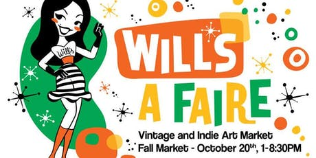 Will's A Faire Vintage & Indie Art Fall Market tickets