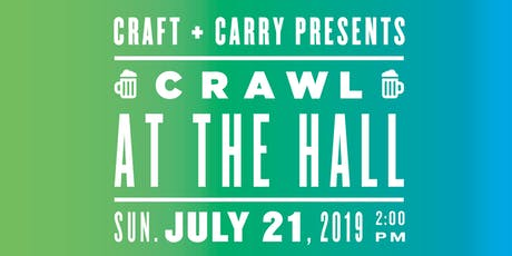 Summer Crawl at the Hall Beer Festival at DeKalb Market Hall in Downtown BK tickets