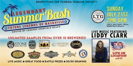 Legend's Summer Bash tickets