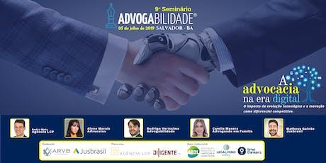 9º Seminário Advogabilidade | Salvador - BA ingressos