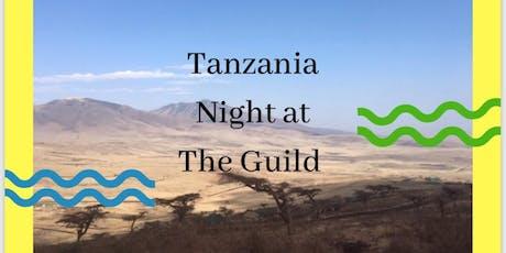 Tanzania Night  at The Guild tickets