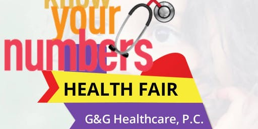 Know Your Numbers Health Fair