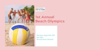 1st Annual Beach Olympics