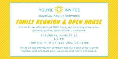 Sunbeam Family Services Family Reunion and Open House