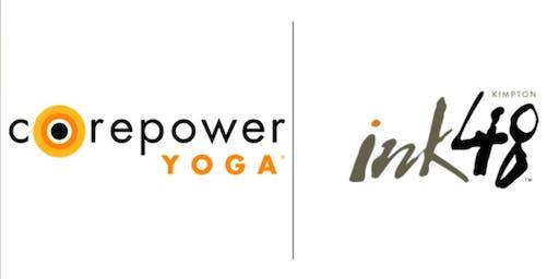 CorePower Yoga x Kimpton Ink48 Hotel