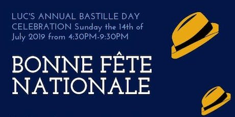 Bastille Day Cookout and Party With Live Music tickets