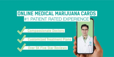 Daily Oklahoma Medical Cannabis Patient Drive - Online! tickets