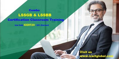 Combo Lean Six Sigma Green Belt & Black Belt Certification Training in Kyle, TX