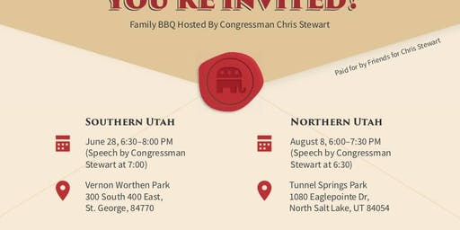 Southern UT Summer Family BBQ (FREE)