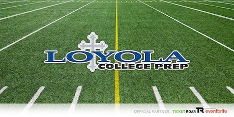 Loyola vs Delhi Charter Varsity Football tickets