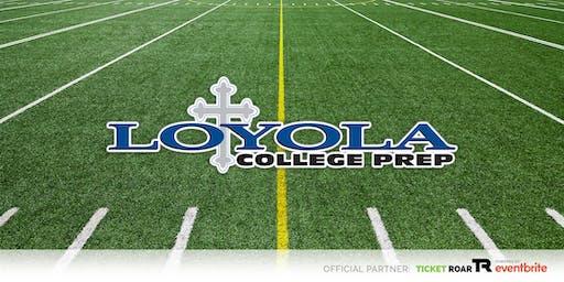 Loyola vs Magnolia Charter Varsity Football