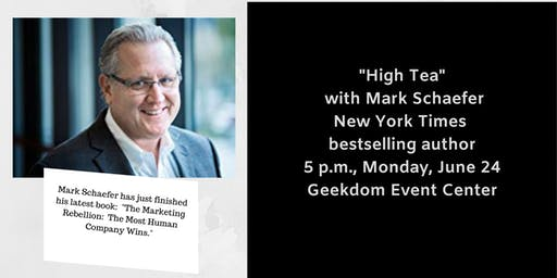 High Tea with Mark Schaefer