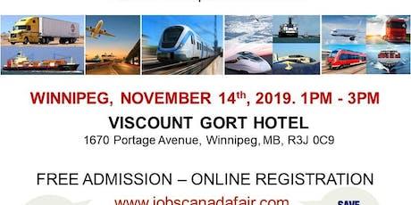 Winnipeg Transportation Job Fair- November 14th, 2019 tickets