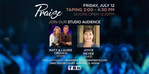 IL - Joyce Meyer with Matt & Laurie Crouch