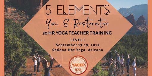 5 Elements Yin & Restorative Yoga Teacher Training - Level I