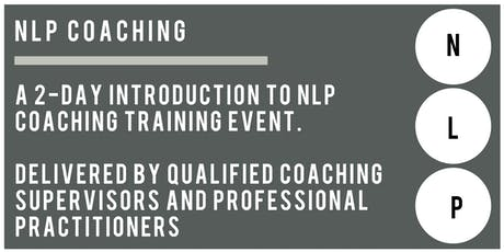 2-Day Introduction to NLP Coaching tickets