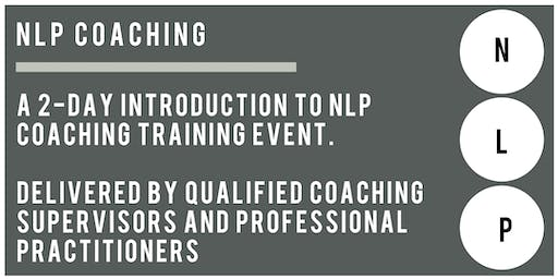 2-Day Introduction to NLP Coaching