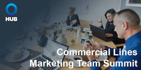 HUB Commercial Lines Marketing Team Summit tickets