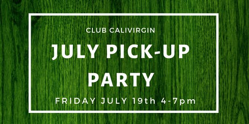 Club Member Pick Up Party