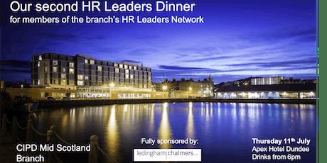 CIPD Mid Scotland Branch - HR Leaders Dinner tickets