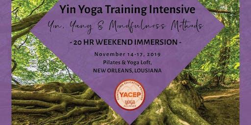Yoga Training Intensive: Yin, Yang, & Mindfulness Methods- 20 HR