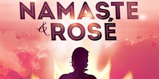 Namaste & Rosé Poolside Yoga 7/13