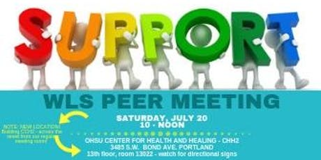 PEER SUPPORT MEETING JULY 20, 2019 tickets