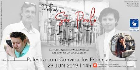 Palestra: Poéticas de São Paulo [Alex Gimenes e Renan Nakano] ingressos