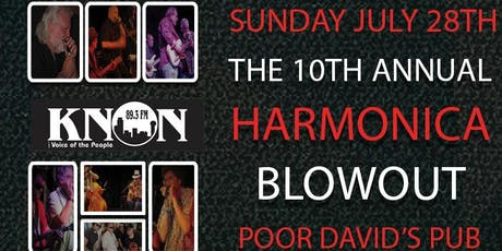 KNON's 10th Annual Harmonica Blowout tickets