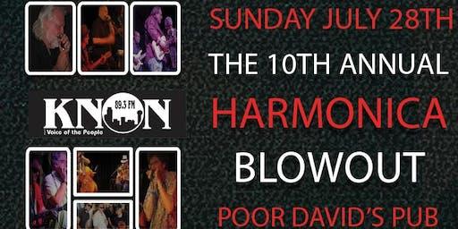 KNON's 10th Annual Harmonica Blowout
