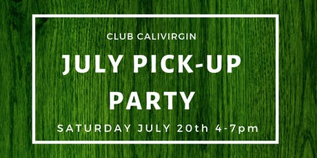 Club Member Pick Up Party tickets