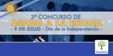 3º Concurso de Asado a la Estaca - Día de la Independencia entradas