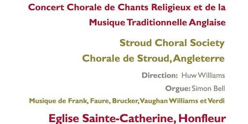 Stoud Choral Society Concert Caricatif d'Eté