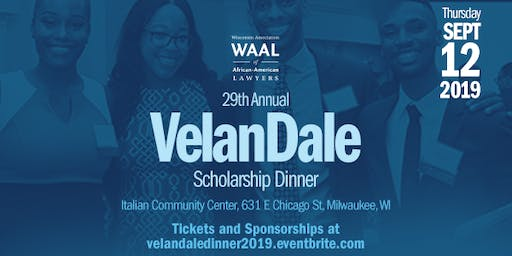 The 29th Annual VelanDale Scholarship Dinner