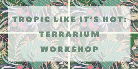 TROPIC LIKE IT'S HOT: Beginners Terrarium Workshop tickets