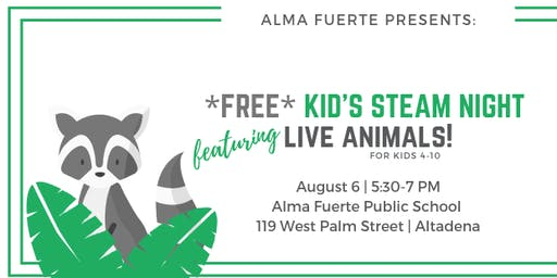 FREE Kid's STEAM Night