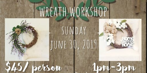 Burlap & Bows Wreath Workshop