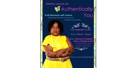 Ministry Launch of Authentically You  tickets