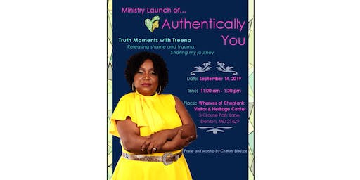 Ministry Launch of Authentically You