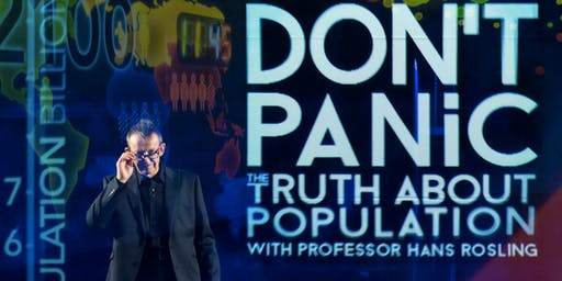 "Houston GREEN Film Series: ""Don't Panic – The Facts About Population"""