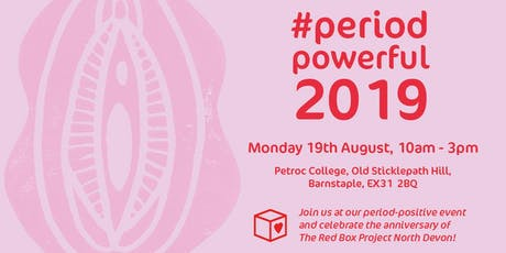#PeriodPowerful 2019: Celebration of The Red Box Project North Devon tickets