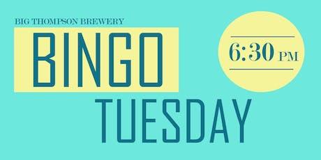 Bingo Tuesday tickets